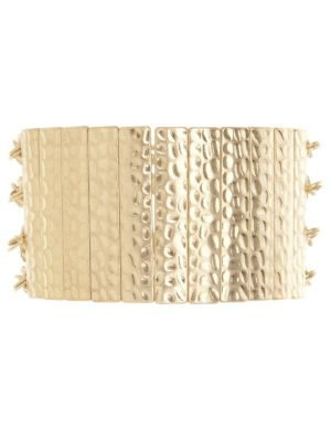 Hammered bar & link bracelet by Lane Bryant
