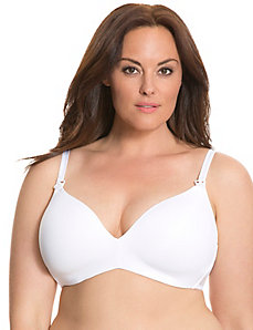 Nursing no-wire bra