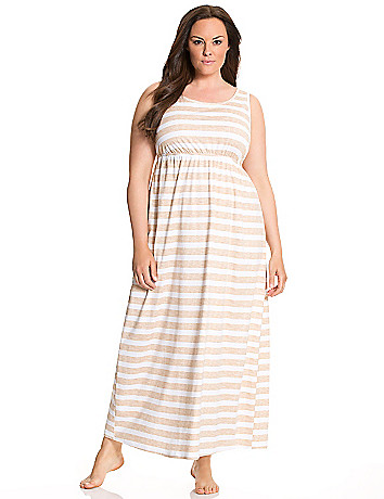 Striped maxi lounger