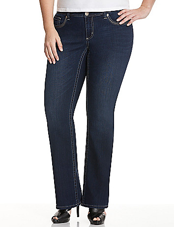 Double 7 slim boot jean by Seven7