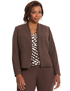 Oxford weave kissing jacket