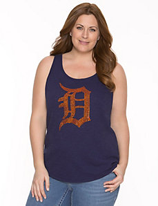 Detroit Tigers embellished tank