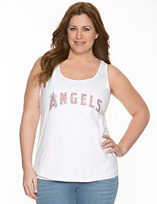 Los Angeles Angels embellished tank