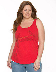St. Louis Cardinals embellished tank