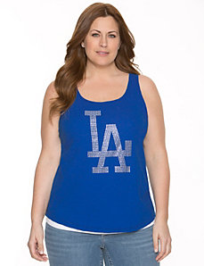 Los Angeles Dodgers embellished tank