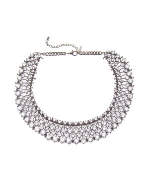 Stone statement collar necklace by Lane Bryant