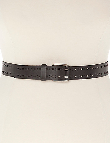 Leather Belt by Lane Bryant