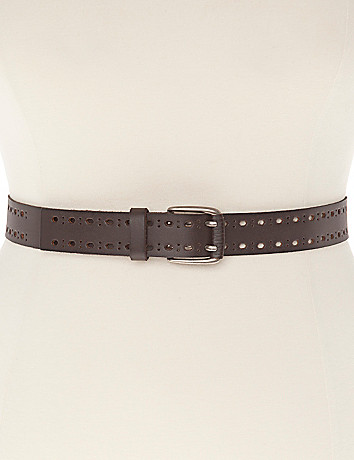 Leather Belt by Lane Bryant