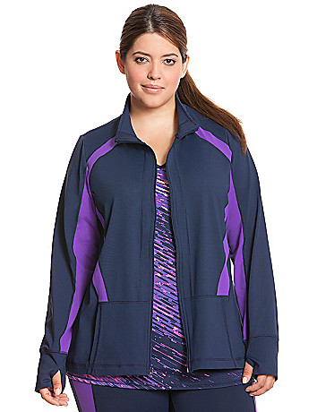 TruDry colorblock active jacket