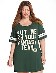 Green Bay Packers sleep shirt