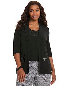 Matte Jersey jacket