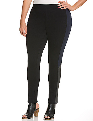 Slimming colorblock legging