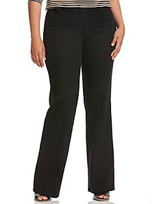 Genius Fit™ black trouser jean