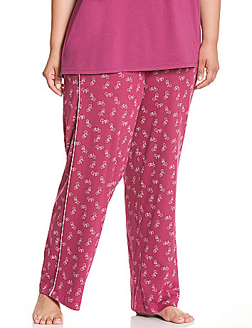Bike print sleep pant
