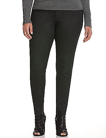 Coated Skinny Jean by Lane Bryant