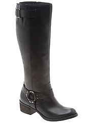 Sienna leather harness riding boot