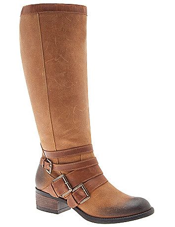 Theresa leather riding boot