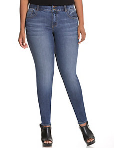 Straight fit skinny jean with Tighter Tummy Technology