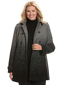 Ombre peacoat