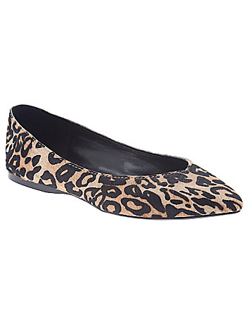 Gianna hair calf flat