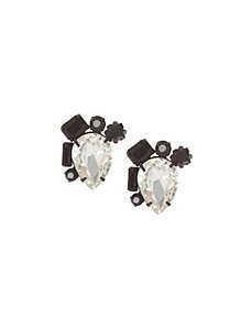 6th & Lane stone drop earrings