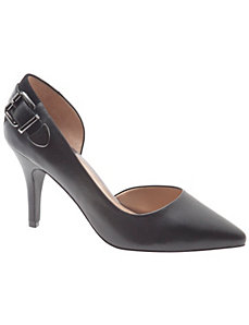 Rosalia leather d'Orsay pump