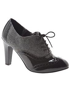 Patent Oxford heel
