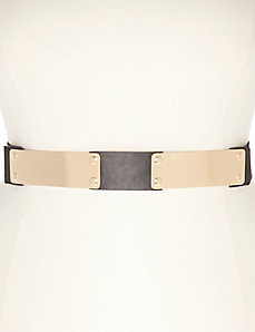 Metal stretch belt