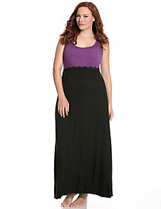 Tru to You colorblock maxi lounger