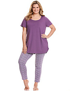 Striped legging 2-piece PJ set