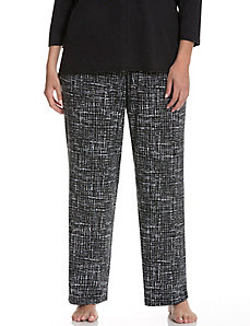 Tweed dot sleep pant