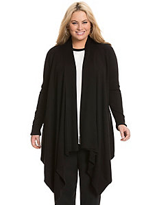 Oversized draped cardigan by DKNYC