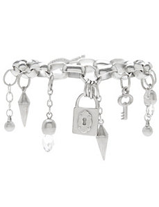 Spike charm bracelet by Lane Bryant