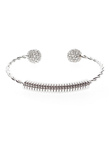 Twisted fireball bracelet by Lane Bryant