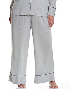 Tru to You woven wide leg sleep pant