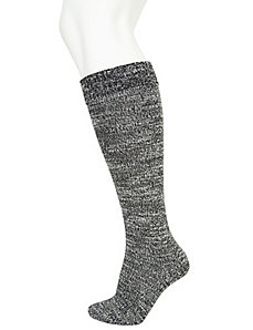 Marled boot socks