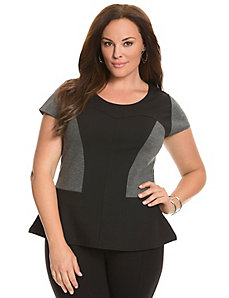 6th & Lane peplum top