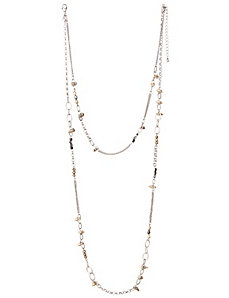 2 in 1 spike necklace by Lane Bryant