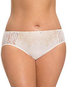 Filigree print Dazzler panty