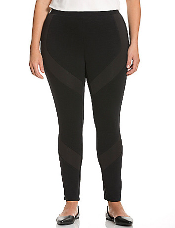 Ponte legging with scuba