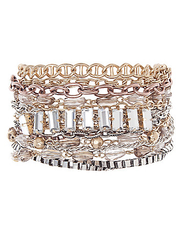 Twist chain bracelet by Lane Bryant