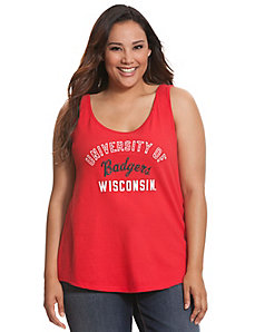 University of Wisconsin embellished tank