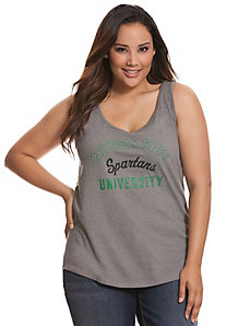 Michigan State University embellished tank