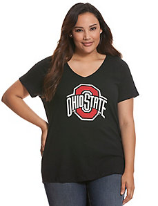 Ohio State University embellished tee