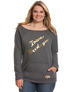 University of Iowa sweatshirt
