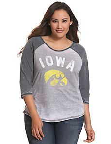 Iowa 3/4 sleeve tee