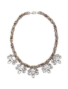 Twisted chain statement necklace by Lane Bryant