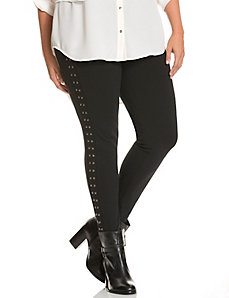 Control Tech ponte skinny with studs