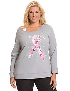 Awareness ribbon sweatshirt