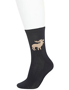 Moose crew socks 2-pack
